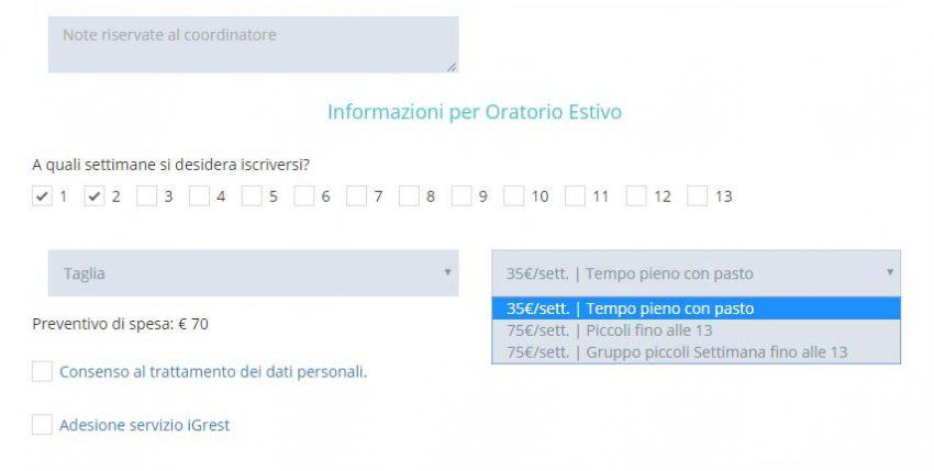 Iscrizione online per il tuo centro estivo for Personalizza la tua casa