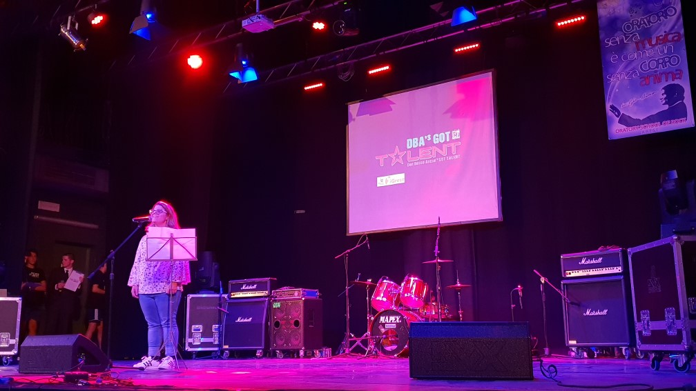 iGrest come main sponsor del DBA'S Got Talent 2018 - 20180929 222056