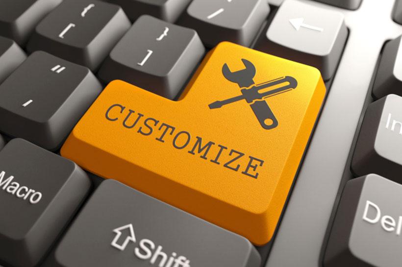 Personalizza iGrest secondo le tue esigenze - Customize